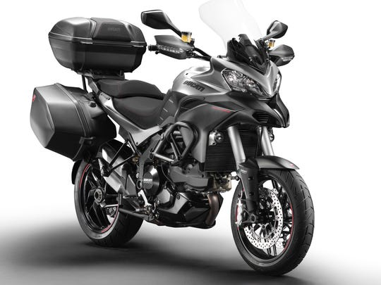 The Multistrada features four ride modes.