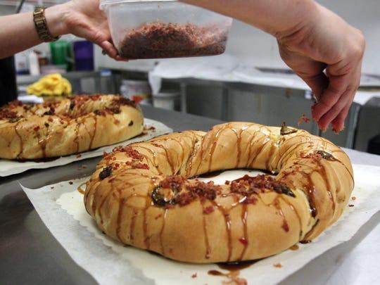 Kayla Liebert, co-ower of Cajun Market Donut Company,