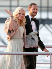 Crown Princess Mette-Marit of Norway and Crown Prince