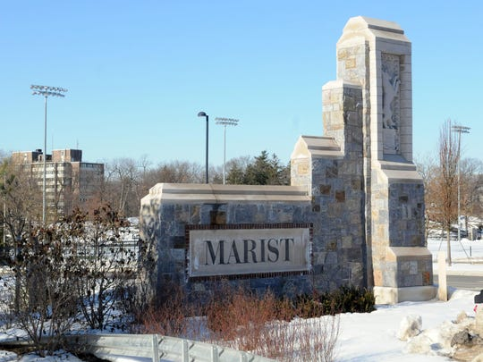 Marist College photographed in the Town of Poughkeepsie.