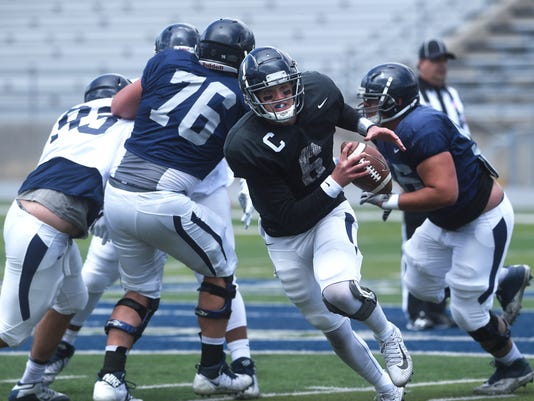 Nevada Concluded Spring Football With The Annual Silver And Blue Game