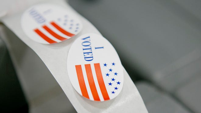'I Voted' stickers