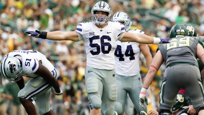 Kansas State junior defensive end Wyatt Hubert, a Shawnee Heights graduate, announced Tuesday he was declaring for the 2021 NFL Draft and foregoing his senior season with the Wildcats.