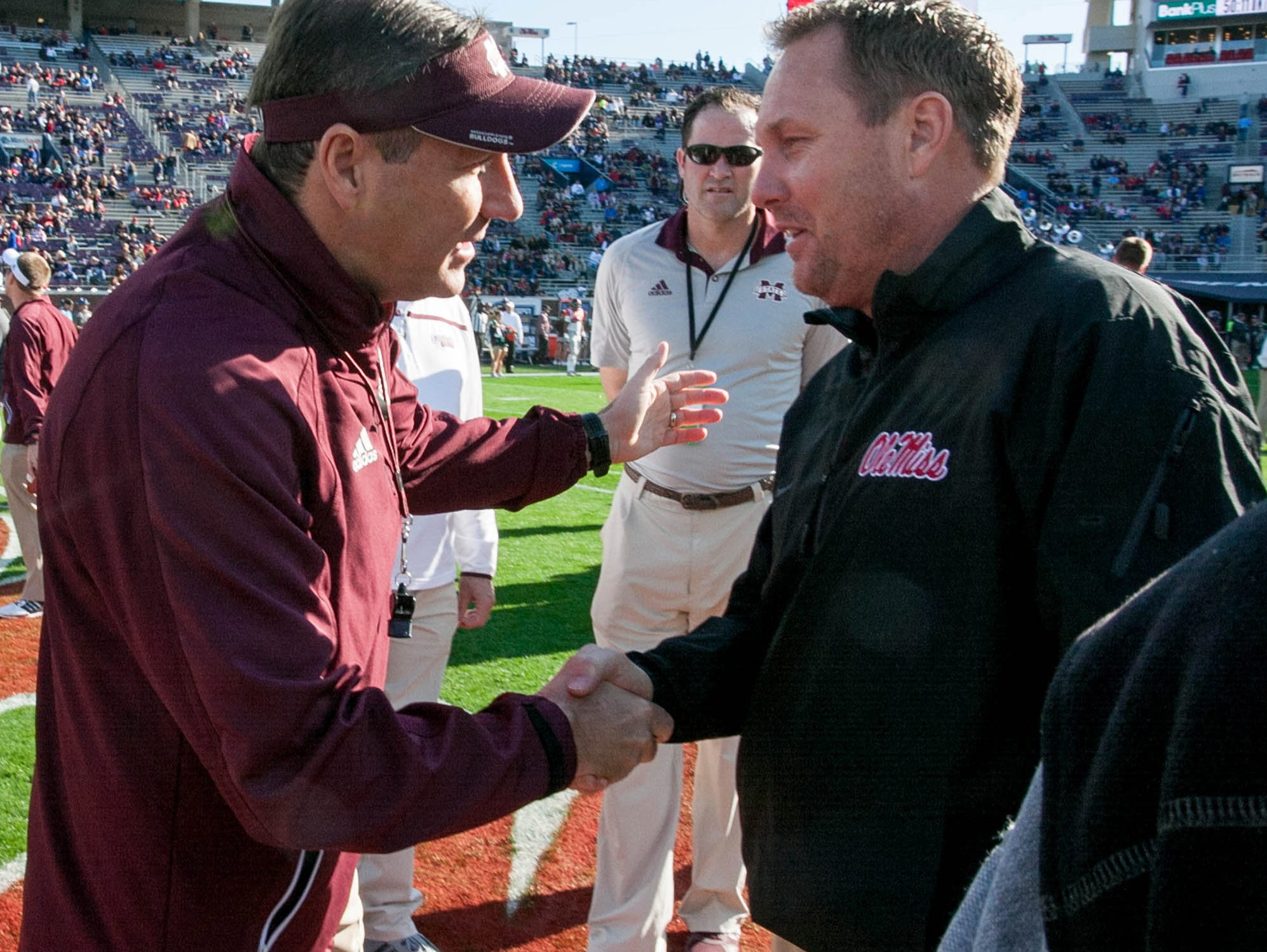 2017 05 kickoff time for national championship game - Dan Mullen Left And Hugh Freeze Right Will Face Off In The