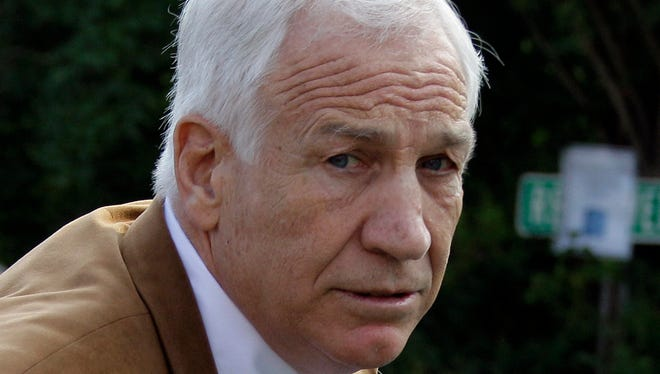 Former Penn State assistant football coach Jerry Sandusky, 69, is serving a 30- to 60-year prison sentence at a state prison in southwestern Pennsylvania.