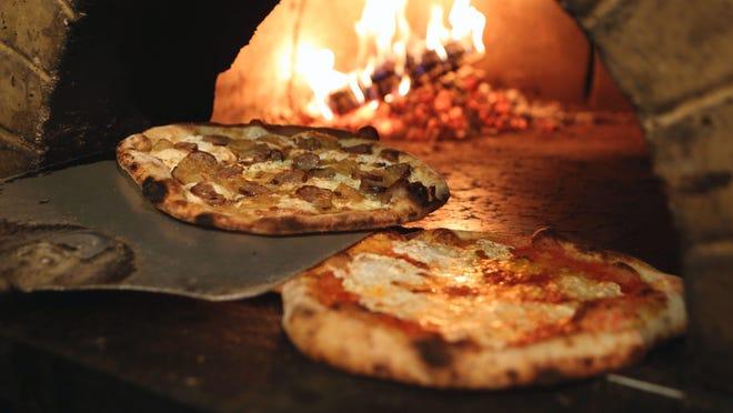 Pizzas at Pizzeria Posto Mark Vergari/Poughkeepsie Journal