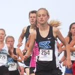 Simon Kenton freshman Sophia DeLisio finished top 10 in 3A girls KHSAA state cross country meet Nov. 7, 2015.