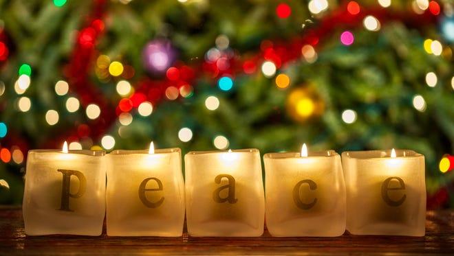 """Peace on earth, goodwill toward men"" is a common Christmas refrain."