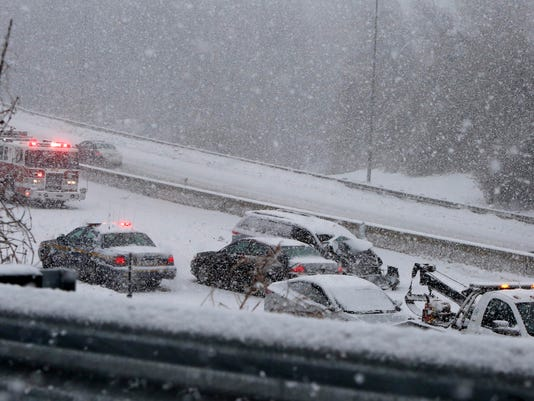 Icy storm claims 2 lives on I-95 in Rye