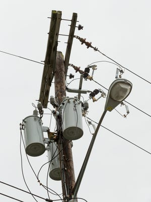 Numerous electric customers in Tompkins County were without power Thursday afternoon.
