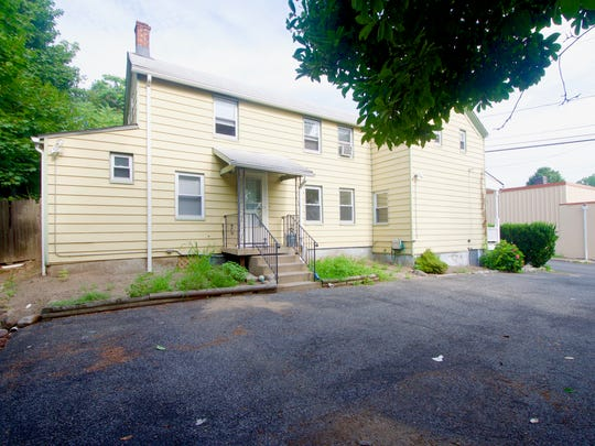 This multi-family home at 93 Jackson Ave., Nyack, was