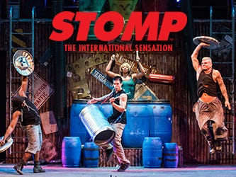 Enjoy this unique and explosive performance of STOMP at the Weidner Center. Enter 10/12-10/31