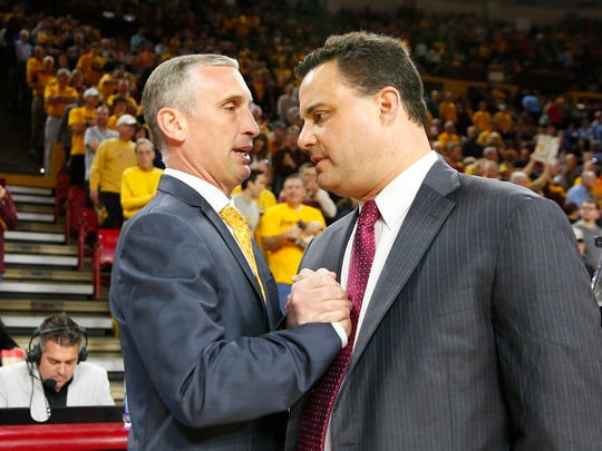 Bobby Hurley and Sean Miller have their teams in the thick of the Pac-12 basketball conference race.