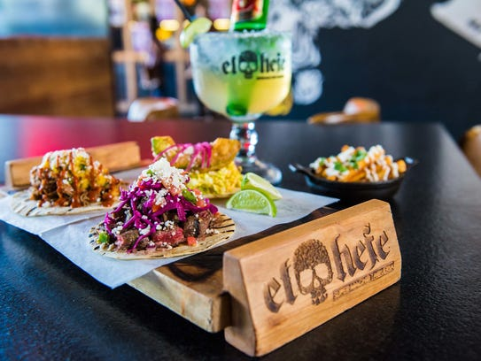 Tacos at El Hefe in Tempe and Scottsdale.  Peter Speyer