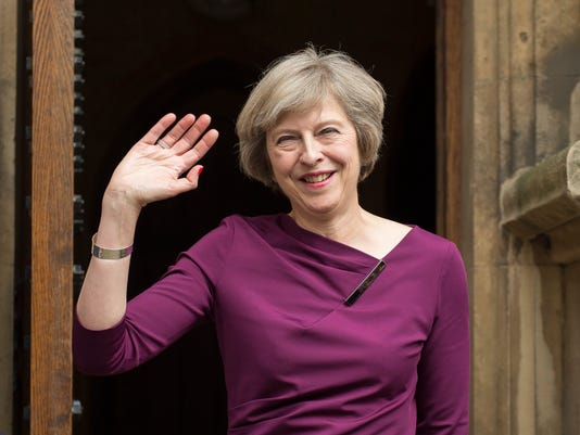 EPA FILE BRITAIN CONSERVATIVE LEADERSHIP CONTEST POL PARTIES GBR