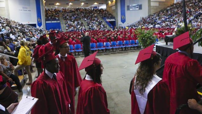William Penn High School graduates.
