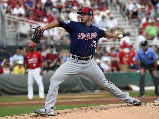 MLB: Spring Training-Minnesota Twins at St. Louis Cardinals
