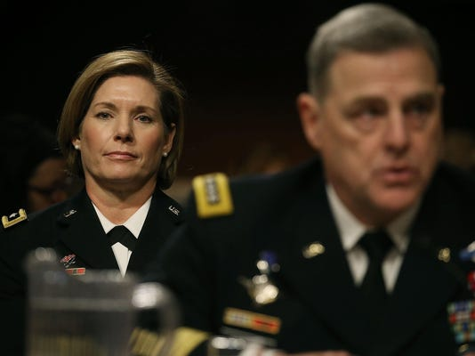 Senate Holds Hearing On Military Decision To Open All Combat Units To Women