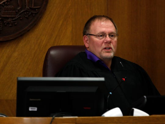 Winnebago County Court Judge Scott Woldt hears Ryan