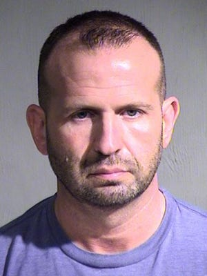 Goodyear police officer Jeffrey Streeter was arrested in October 2014 after Avondale police claimed he was illegally taping women at a tanning salon.