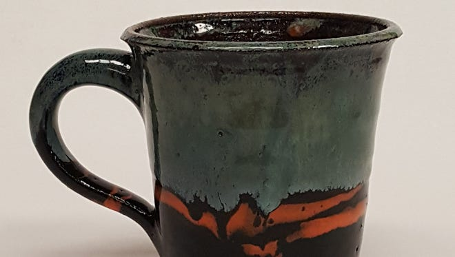 A cup created by Veronica Carrel.