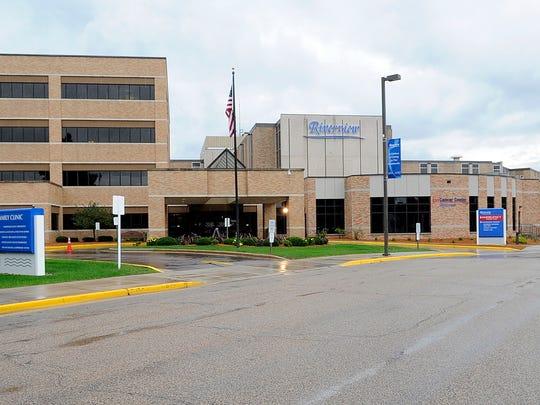 Aspirus Riverview Hospital in Wisconsin Rapids.