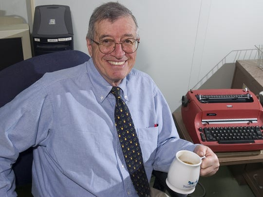 David Rossie retired in 2007 after a 45-year career at the Press & Sun-Bulletin.