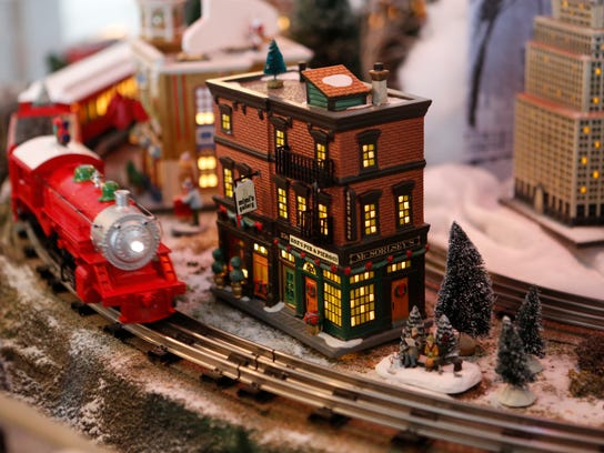 A holiday train show, holiday lights, hayrides, storytelling,