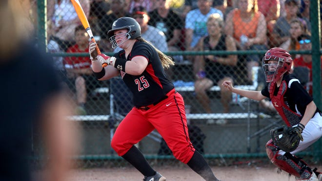 Stewarts Creek's  Loryn Sherwood hit .449 with 22 home runs, nine doubles and 61 RBIs.