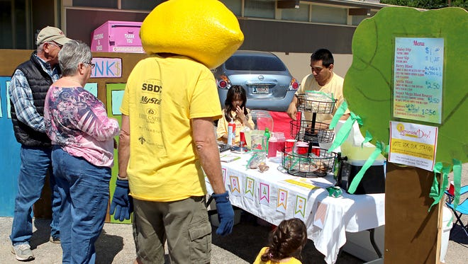 Customers will be lined up this Saturday to try a variety of lemonades and creations by young entrepreneurs around Wichita Falls as they participate in Lemonade Day.