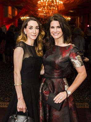 "The Cincinnati Opera hosted its festive Spanish-themed Opening Night Dinner, inspired by its season-opening opera, ""Carmen,"" at Music Hall. Amy Kirchen and Kim Kline."