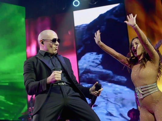 Pitbull At Hard Rock Live!