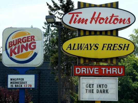 Burger King Tim Hortons