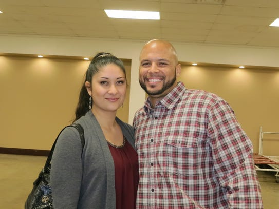 Roxanne and Bryan McGruder of Redding attend the Anderson