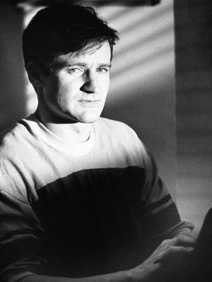 """FILE - This 1982 file photo originally released by Warner Bros. Pictures shows actor Robin Williams as T.S. Garp from the film, """"The World According to Garp.""""  Williams, whose free-form comedy and adept impressions dazzled audiences for decades, died Monday, Aug. 11, 2014, in an apparent suicide. Williams was 63.  (AP Photo/Warner Bros., File) ORG XMIT: NYET170"""