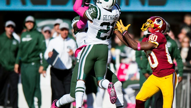 The Jets released safety Marcus Gilchrist on Thursday.