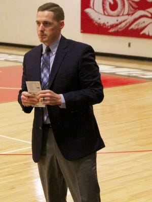 Dugan Lyne was named the new men's basketball coach at Martin Methodist on Tuesday.