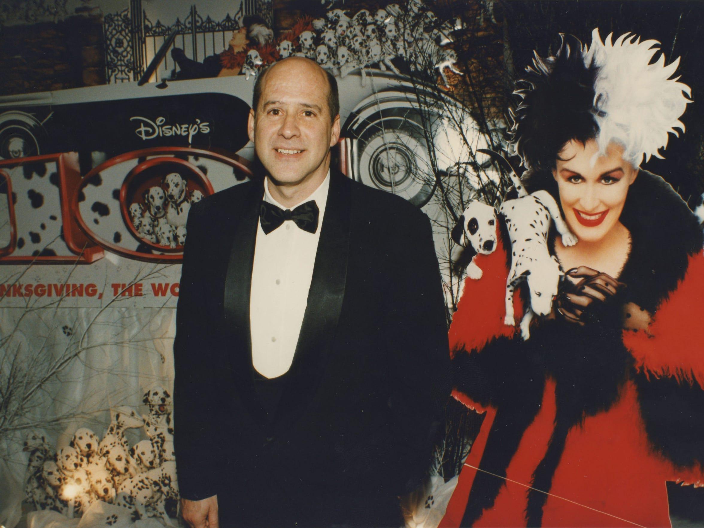 David Vogel during the premiere of Disney's 101 Dalmatians.