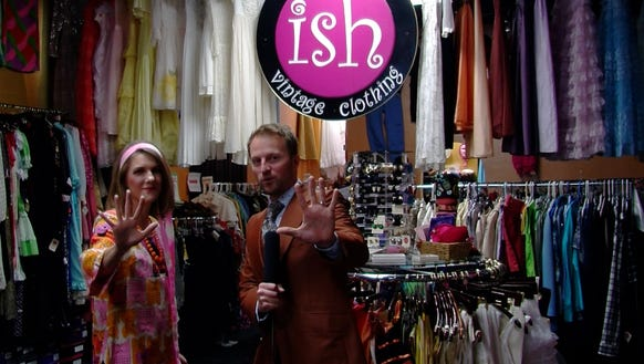Josh Farley, with Holly Duncan of Ish.