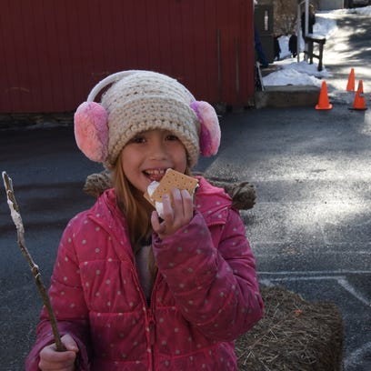 Hyde Park's Winterfest: Enjoying the snow with sledding, skiing, s'mores
