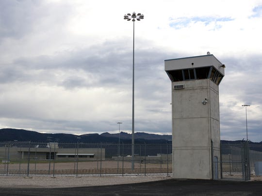 The Ely State Prison near Ely, Nev., is shown on July