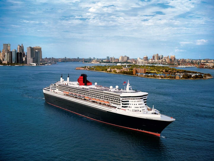 Cunard's iconic flagship, Queen Mary 2, underwent a
