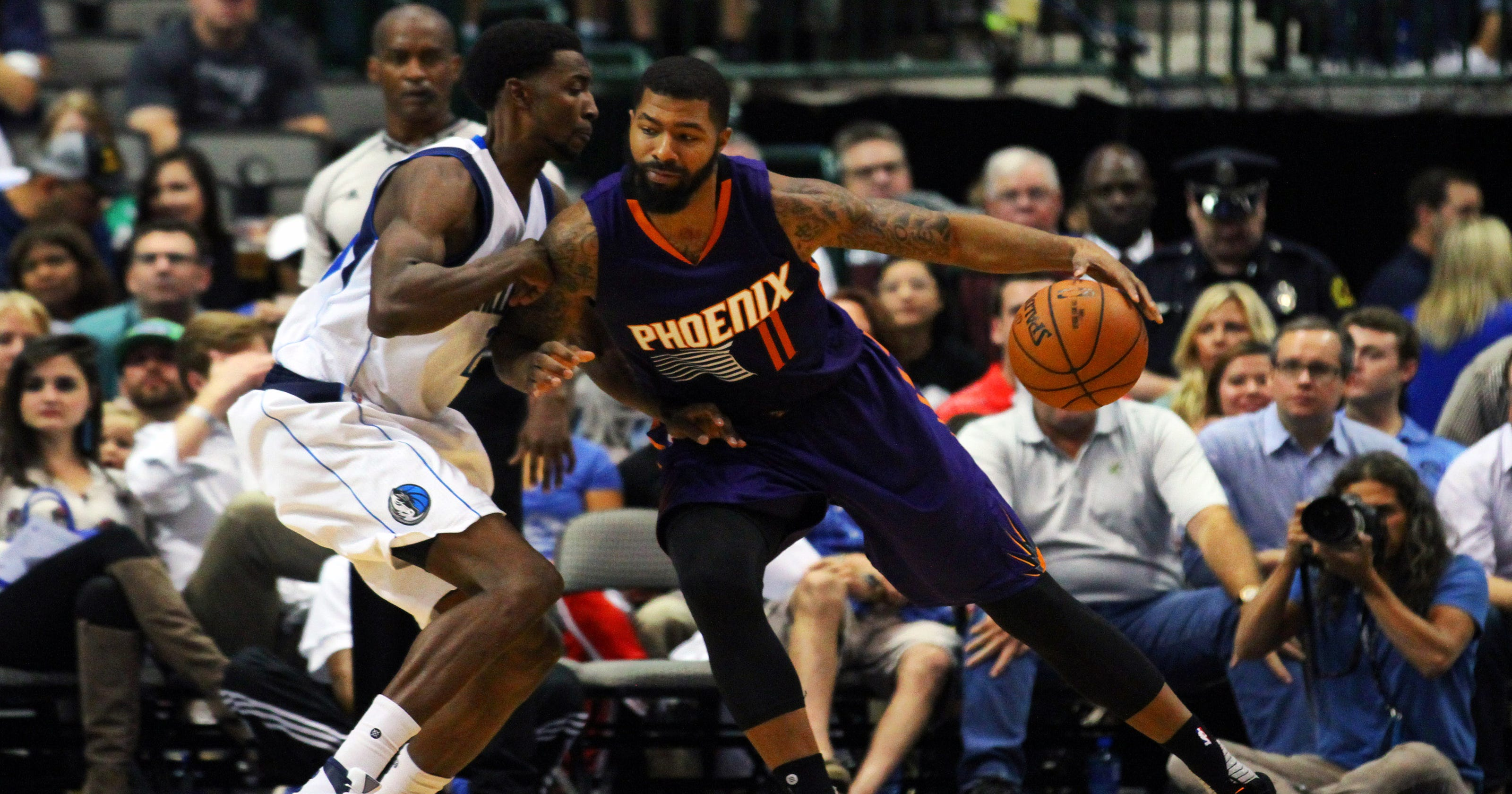 7624ab17e5d9 Phoenix Suns end preseason by rallying to win at Dallas