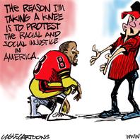 Reader: Kneeling, protesting is an American legacy