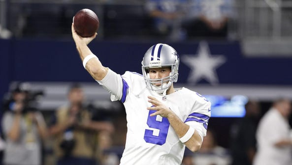Tony Romo is the Cowboys' all-time leader in passing