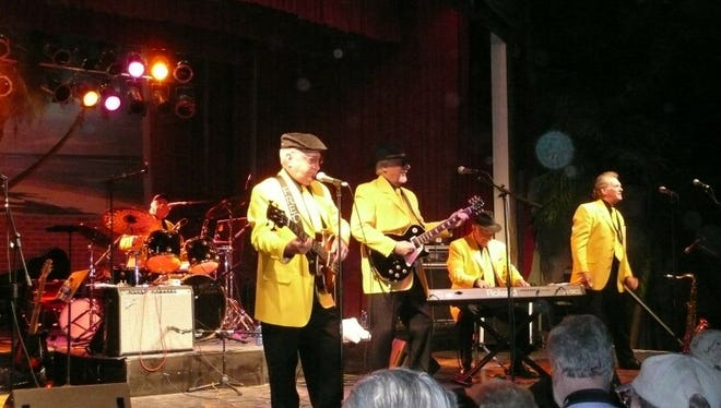 The Legendary Pacers will perform Friday night in downtown Mountain Home.