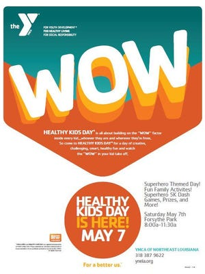 Healthy Kids Day is Saturday at Forsythe Park