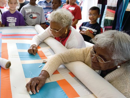 The famed African-American quilting community of tiny Gees Bend, Ala., has been featured on U.S. postage stamps and in international museum exhibits.