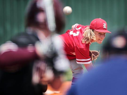 Rossview pitcher Jackson Carter threw a stellar game