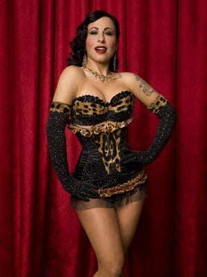"""Angie Pontani (a.k.a. """"The Italian Stallionette"""") will perform at the Empire Burlesque Festival."""